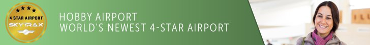 Hobby Airport Earns 4 Stars in International Ratings