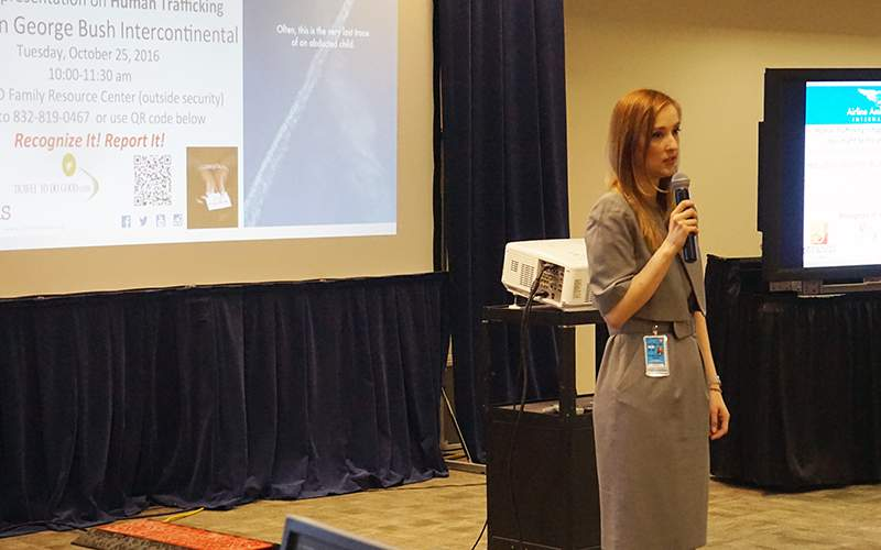 Airport Employees Train To Spot Human Trafficking