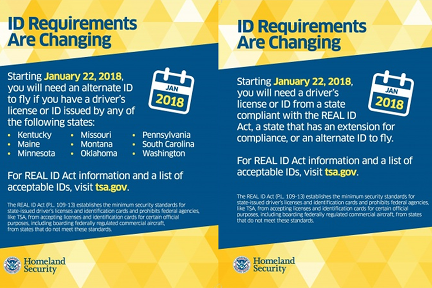 Id Becomes Jan Real Houston Airport Notice 2018 Effective Traveling Act System