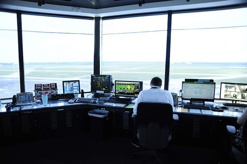 New Traffic Control Tower At Ellington Airport Now Open