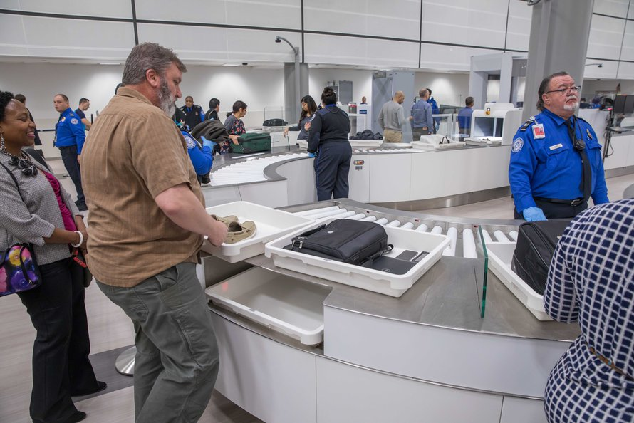 The Houston Airport System And Tsa Open New Automated