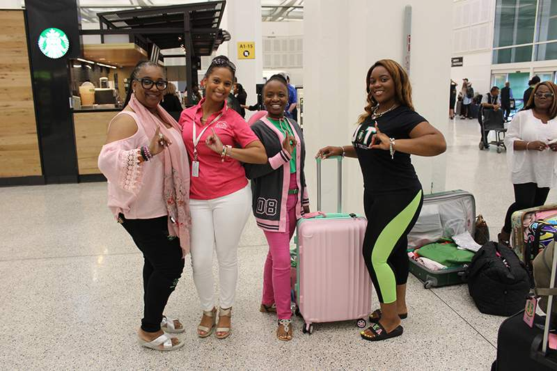 Houston Airports Welcomes Alpha Kappa Alpha Sorority Inc