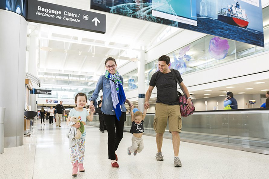 Airport Tips For Families Traveling With Children Over