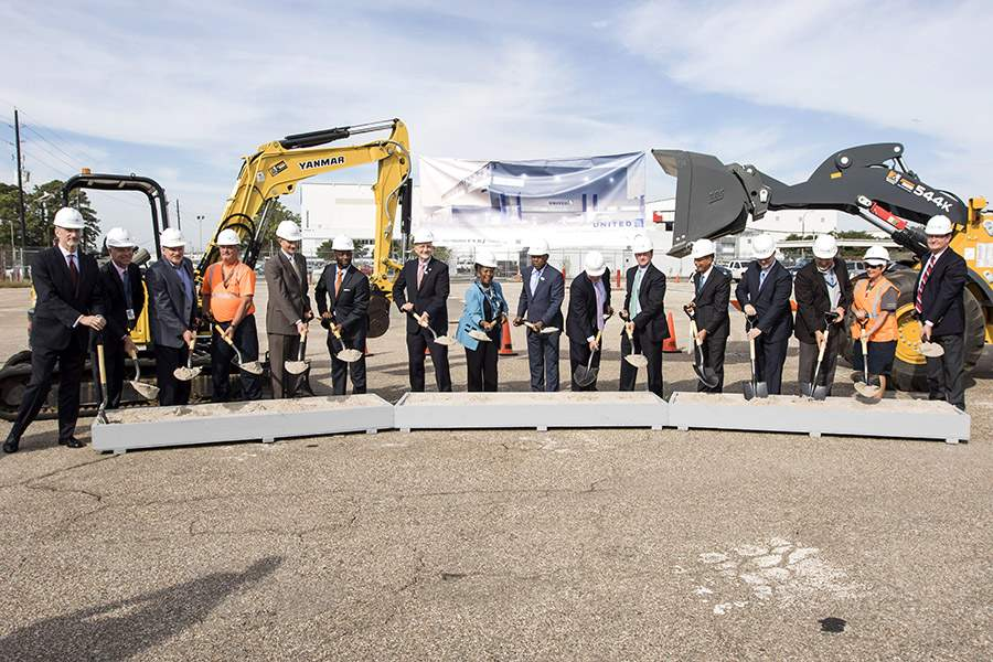 United Airlines Breaks Ground On New Technical Operations